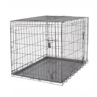 Cage grillagée Dogit à 2 portes avec grille de séparation, très très grande, 122,5 x 74,5 x 80,5 cm (48 x 29,3 x 31,5 po)