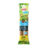 Bâtonnets Living World pour  serins, saveur de légumes, 60 g (2 oz), paquet de 2