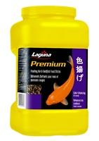 Bâtonnets flottants Premium Laguna rehaussant les couleurs des koïs et des poissons rouges, 620g (22oz)