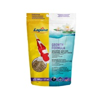 Granulés flottants Laguna favorisant la croissance des poissons rouges et des koïs, 500 g (17 oz)