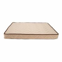 Lit orthopédique à fibres entrelacées Dreamwell Dogit, beige, 81 x 61 x 8 cm (32 x 24 x 3 po)
