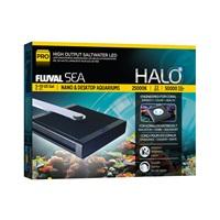 Lampe à DEL de haute luminosité Halo Fluval Sea pour eau de mer, 22W, 14x15,5cm