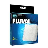 Blocs de mousse pour filtre à moteur Fluval C4, paquet de 2