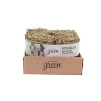Bottes de foin des prés Botanicals Living World Green, herbes et fleurs, paquet de 4 (4 x 150 g)