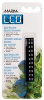 Thermomètre numérique à cristaux liquides, Celsius-Fahrenheit, de 20 à 30 °C (de 68 à 86 °F)