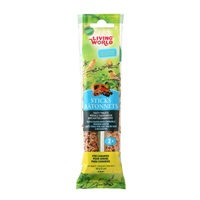 Bâtonnets Living World pour serins, saveur de fruits, 60 g (2 oz), paquet de 2