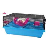 Cage Living World pour hamsters nains, Hangout, L. 51 x l. 36,5 x H. 23,5 cm (20 x 14,3 x 9,2 po)