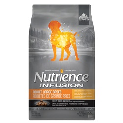 Aliment Nutrience Infusion pour chiens adultes de grande race, Poulet, 10 kg (22 lb)