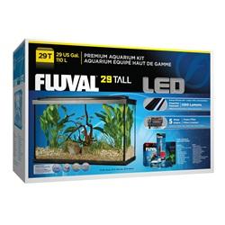 Aquarium équipé haut de gamme 29 haut Fluval avec éclairage à DEL, 110 L (29 gal US)