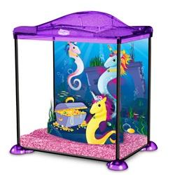 Aquarium équipé des licornes de mer Marina, 17 L (4,5 gal US)