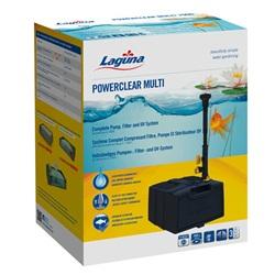 Système complet PowerClear Multi 1000 Laguna avec pompe, filtre et stérilisateur UV-C, pour bassin contenant jusqu'à 3 500 L (1 000 gal US), 13 W