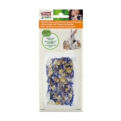 Bloc minéral Living World Green à la mauve et au persil, 110 g