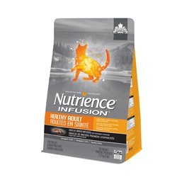 Nutrience Infusion, Chats adultes en santé, Poulet, 2,27 kg