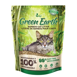 Litière de bambou Green Earth Cat Love pour chats, 8 lb (3,62 kg)