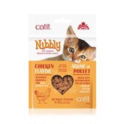 Régals Catit Nibbly pour chats, Poulet