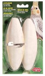 Os de seiche Living World avec attache, grands, de 15 à 18 cm (de 6 à 7 po), paquet de 2