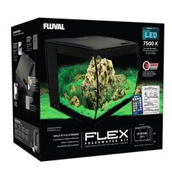 Aquarium équipé Flex Fluval, 57 L (15 gal US)