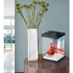 Aquarium Marina  en forme de tour pour betta, 1,25 L (0,33 gal US)