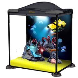 Aquarium équipé explorateur des fonds sous-marins Marina, 17 L (4,5 gal US)