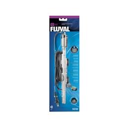 Chauffe-eau submersible Fluval M50 de première qualité, 50 W, pour aquariums contenant jusqu'à 50 L (15 gal US)