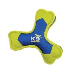 Jouet K9 Fitness Zeus, os tripale en nylon robuste avec organe sonore, 24,1 cm (9,5 po)