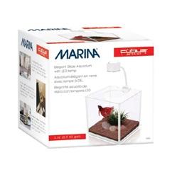 Aquarium équipé Cubus Marina pour betta, 3,4L (0,9galUS)