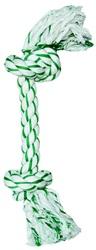 Jouet Dogit en corde nouée à la menthe, grand, 37cm (15po)