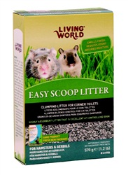 Litière Easy Scoop Living World, 570 g (1,2 lb)