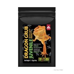Granulés Dragon Grub Exo Terra à base d'insectes pour agames barbus juvéniles, 125 g (4,4 oz)