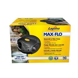 Pompe filtrante Max-Flo 600 Laguna pour cascade, pour bassin jusqu'à 4400L (1200galUS)