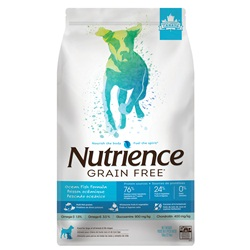 Aliment Nutrience Sans grains pour chiens, Poisson océanique, 10kg (22 lbs)