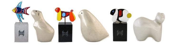 Figurines d'animaux de compagnie Hagen en série limitée