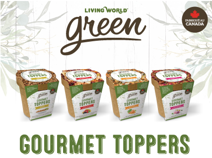 Gourmet Toppers Living World Green