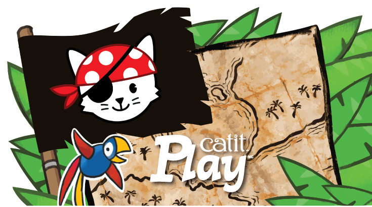 La gamme de jouets Pirates Catit Play