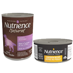 Les aliments humides Nutrience