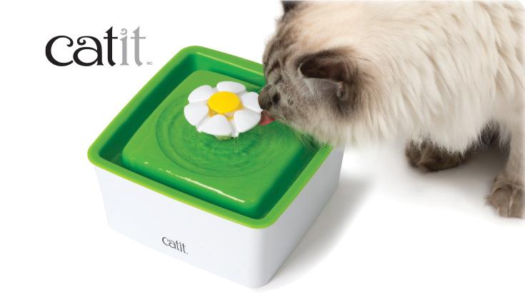 L'Abreuvoir Catit avec fleur, mini