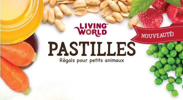 Les pastilles Living World pour petits animaux